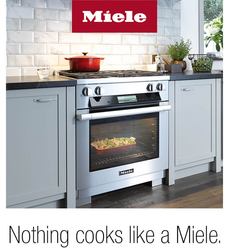 For a limited time, save $500 off select Miele Ranges